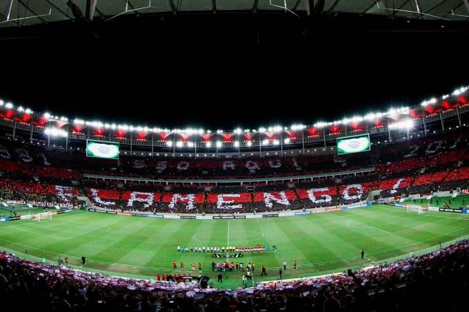 Flamengo x San Lorenzo – Mosaico