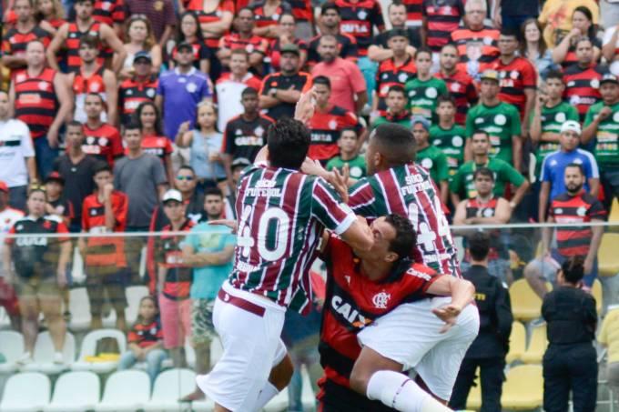 Cariacica (ES) 02/04/2017 – Flamengo x Fluminense