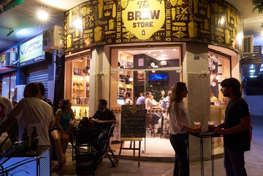 The Brew Store: novidade cervejeira no Méier