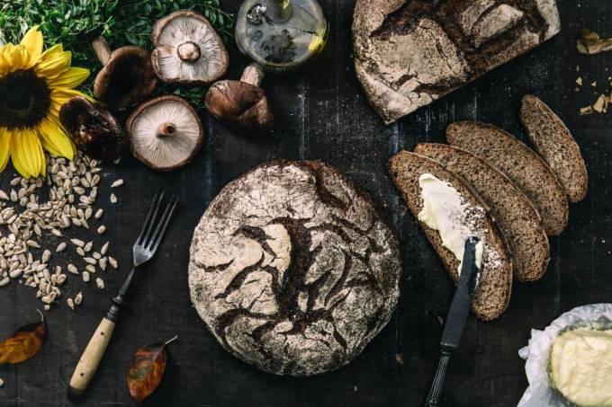 S.p.A. Pane; pão de centeio