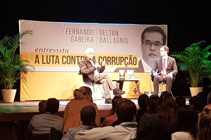 Deltan Dellagnol e Fernando Gabeira