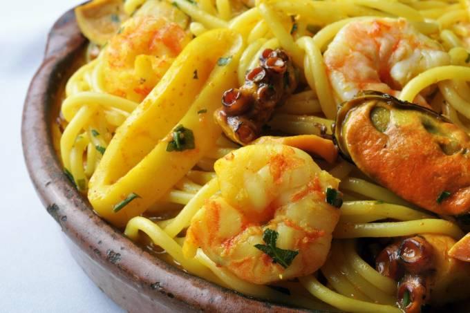 Adega do Cesare_Espaguete com Frutos do Mar
