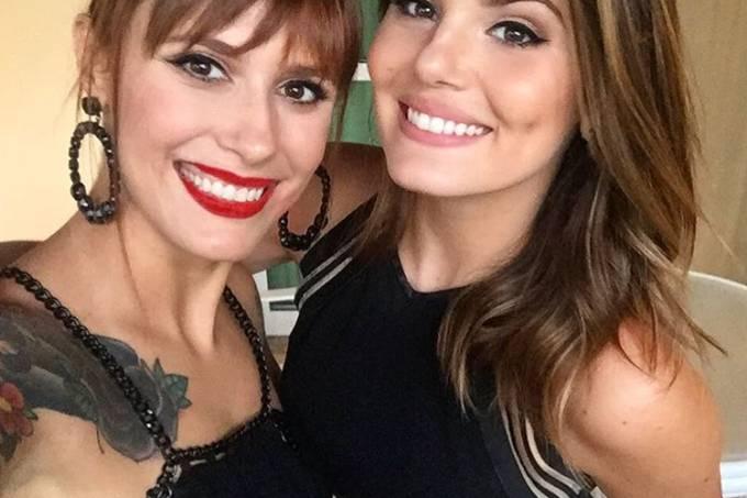 Ju Rakoza e Camila Queiroz