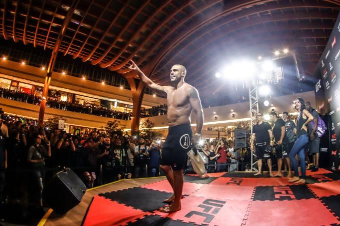 Vitor Belfort – Treino Aberto – Divulgação UFC