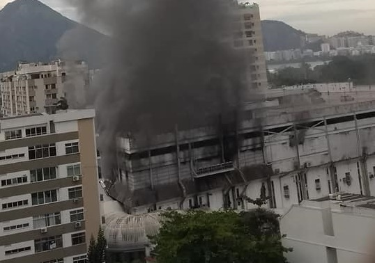 incêndio shopping gávea