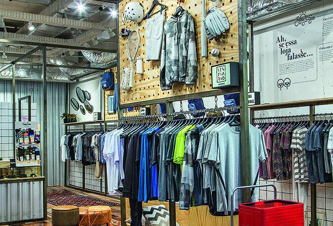 Loja UseReserva.com, no Shopping Fashion Mall.