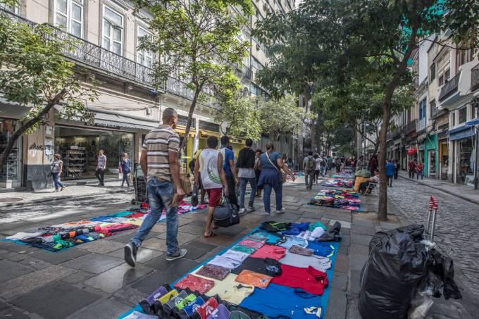 Desordem urbana – Uruguaiana – camelôs