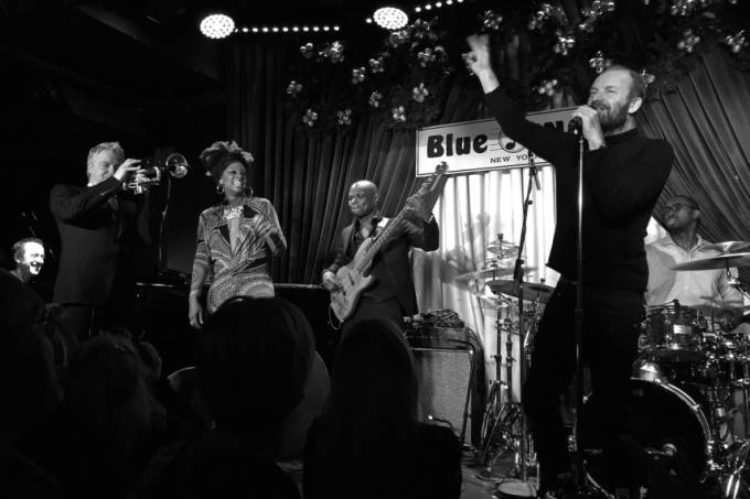 Geoffrey Keezer and Sting Blue Note, NYC