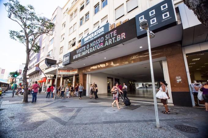Fachada do centro cultural: o endereço na Rua Dias da Cruz já foi cinema e casa de shows