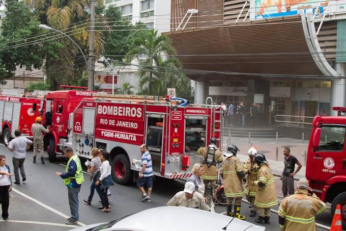 Rio de Janeiro (RJ), 06/06/2017: Incendio