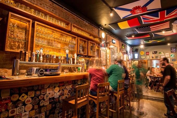 Botto Bar – Chopes diversos e ambiente