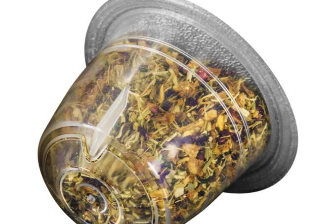 capsula chá