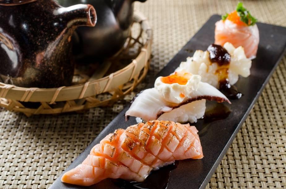 Espececiaisdo chef Nao Hara são atração do serviço do Japa B
