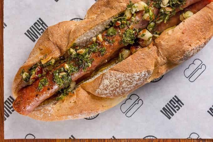 The Sanduwish Shop; hot-dog