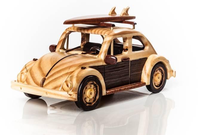Miniaturas de madeira