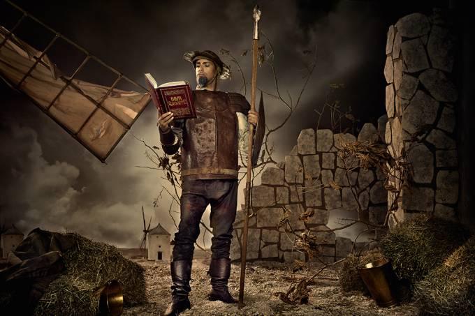 Cauã Reymond de Dom Quixote