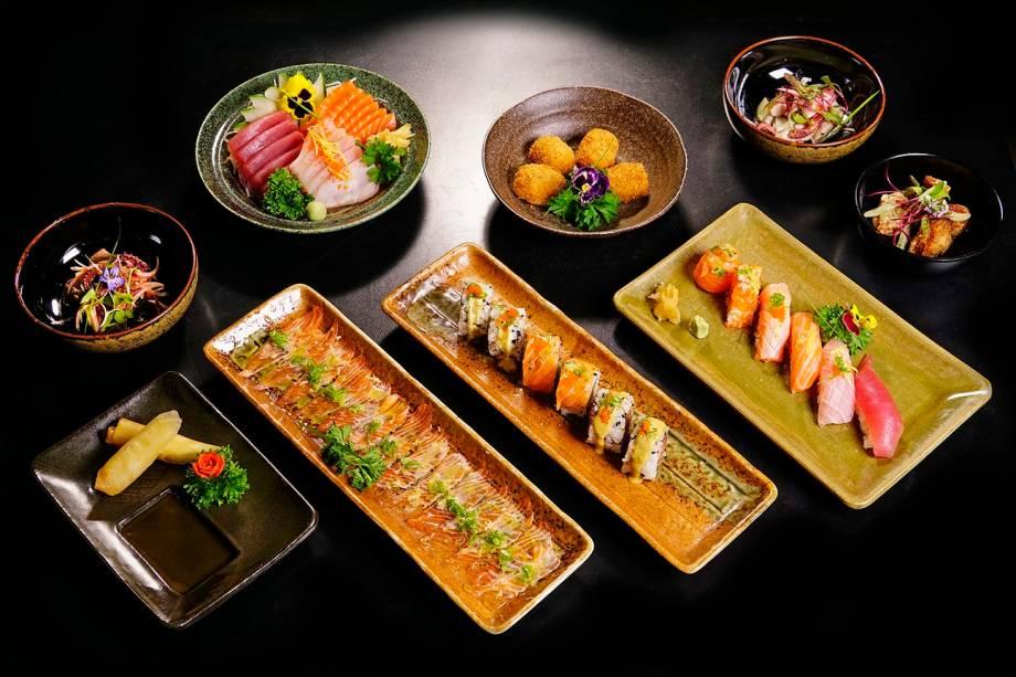 Sugestões do serviço do Mori Ohta Sushi