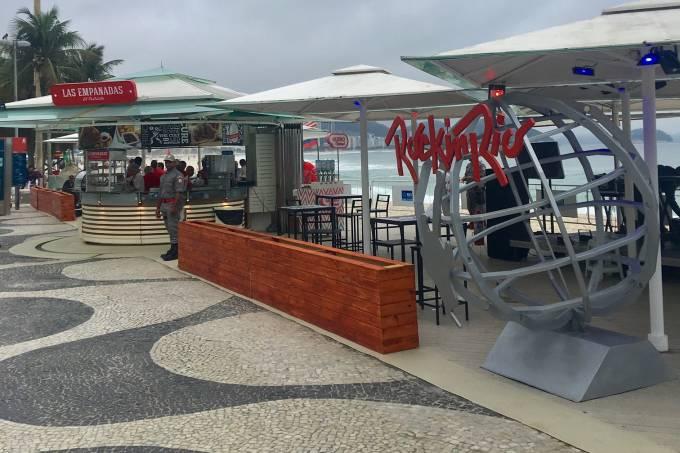 Quiosque Rock in Rio