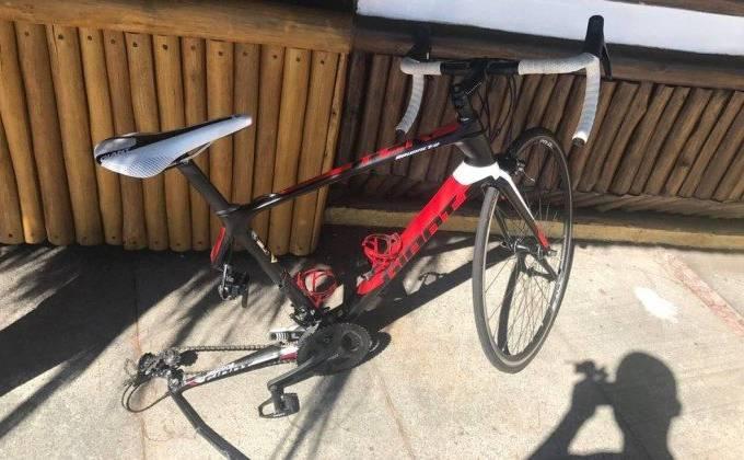 Bicicleta acidente