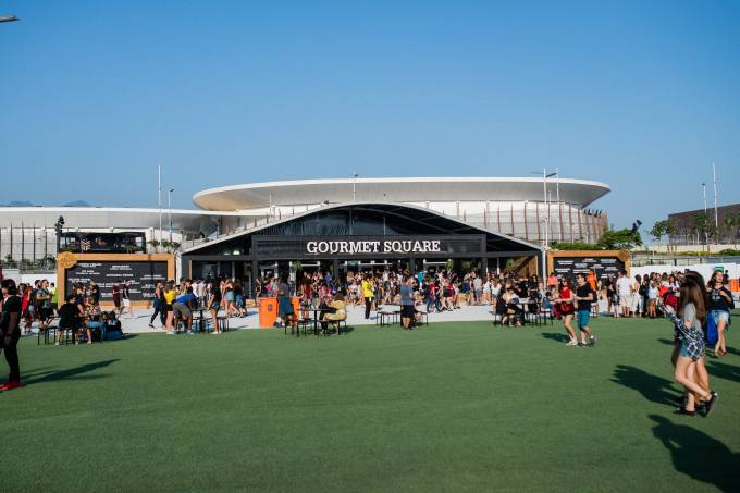 Rock in Rio 2017 – Cidade do Rock – Gourmet Square