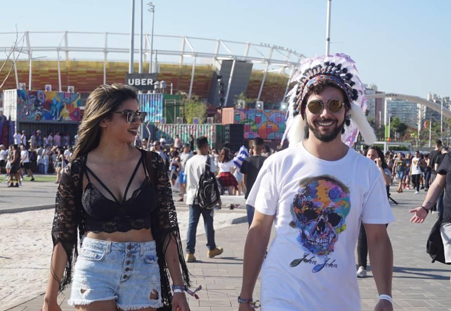 Mayná Marvila, 22 anos, e Alexandre Neto, 22 anos