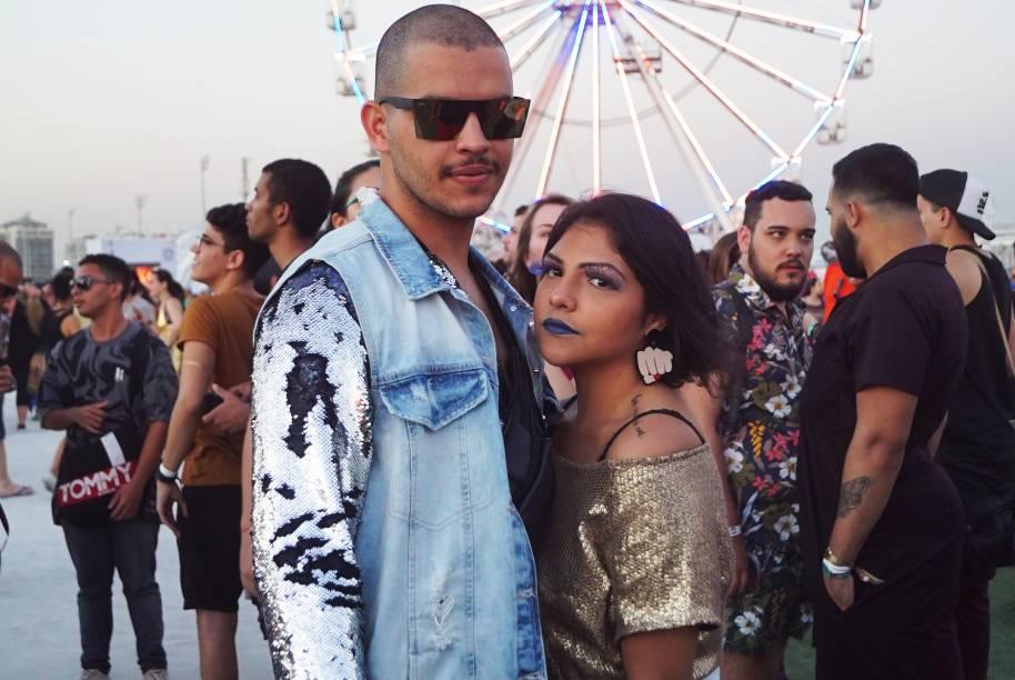 Leandro Lima, 22 anos, e Leonor Fernandes, 23 anos