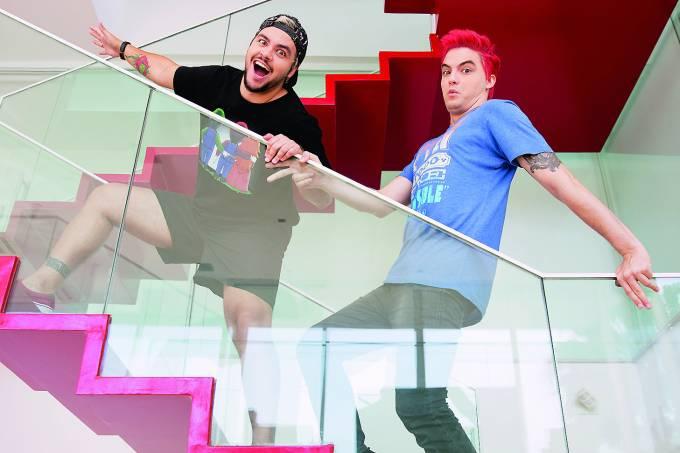 Felipe Neto e Luccas Neto
