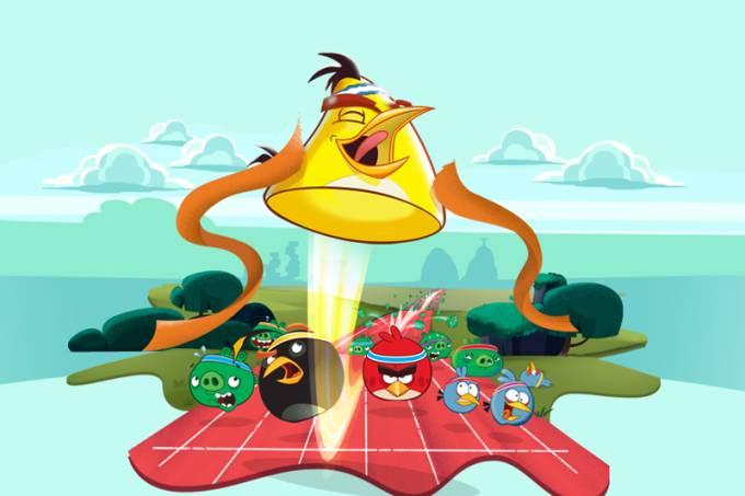 Angry Birds Fun Run