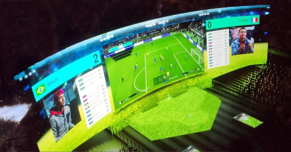 Game XP: a nova atração terá a maior tela de jogos eletrônicos do mundo