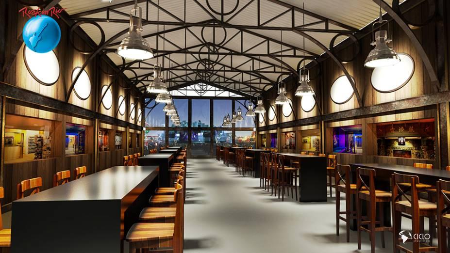 Goumert Square: 14 opções gastronômicas e 630 lugares sentados