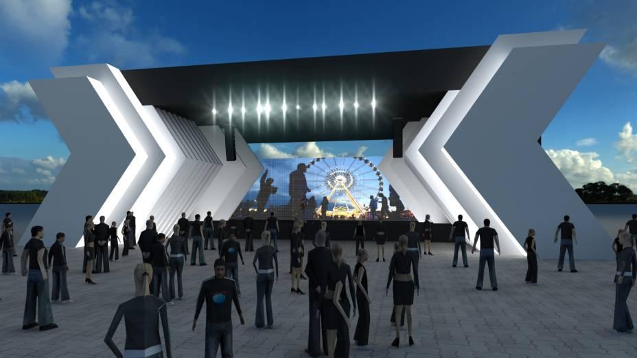 Digital Stage: espaço dedicado a apresentação de celebridades do universo digital