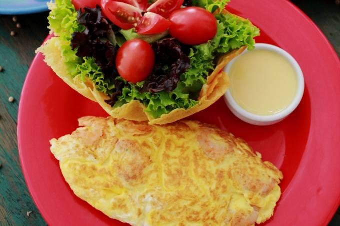 Santa Satisfação; omeletes