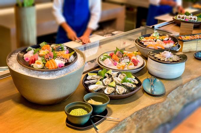 Shiso; brunch japonês