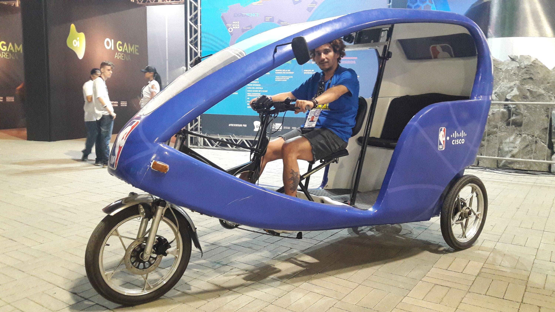 Triciclo gratuito da NBA na Game XP