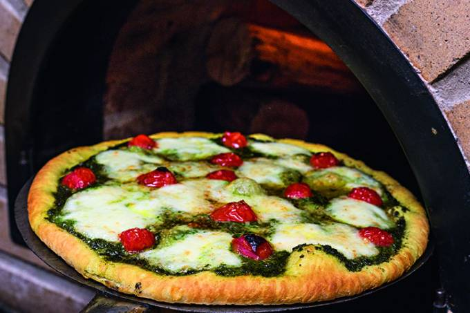 Pizza pesto da Magistrale