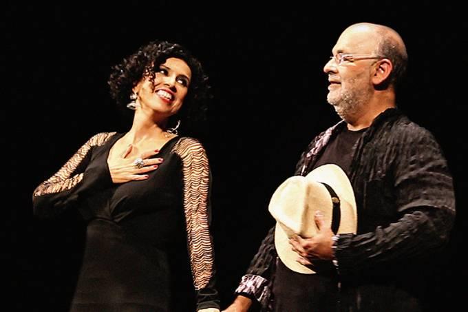 Paula e Jaques Morelenbaum