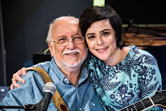 Roberto Menescal e Fernanda Takai