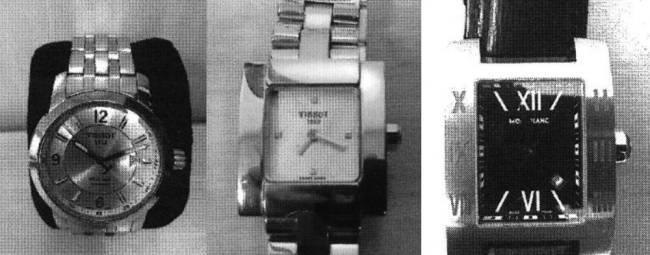 relógios operador de Sérgio Cabral
