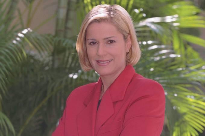 Jornalista Márcia Peltier.