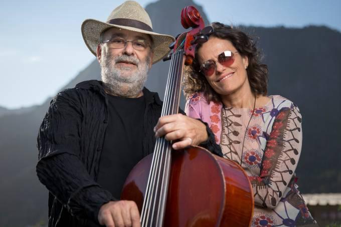 Zélia Duncan e Jaques Morelenbaum