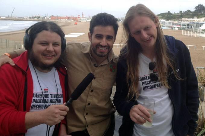 Luiz Felipe, Ze, e Murilo Foltran