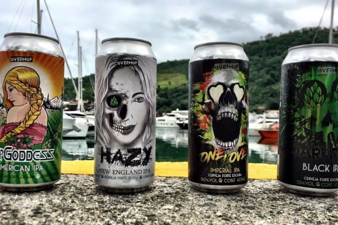 OverHop – Cervejas em linha