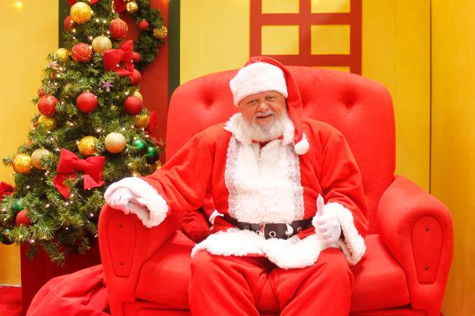 Papai Noel no Center Shopping Rio (1)