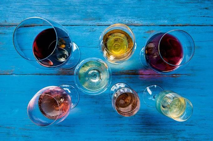 Aprazível; seleção de vinhos