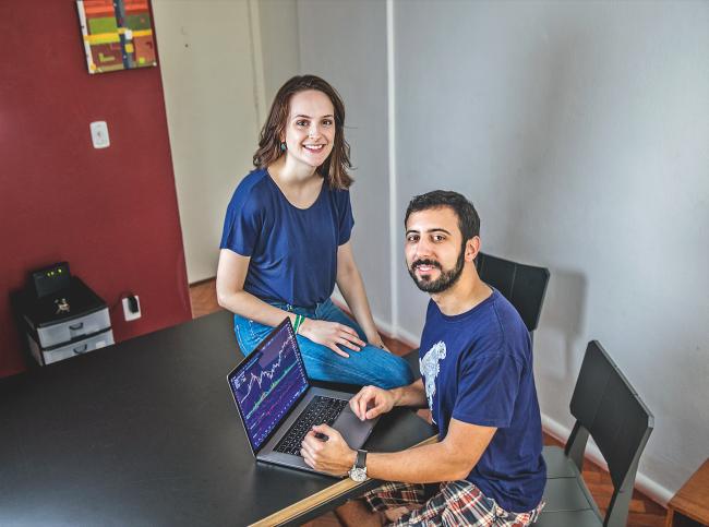 Hugo Calazans e Roana Couto - bitcoin