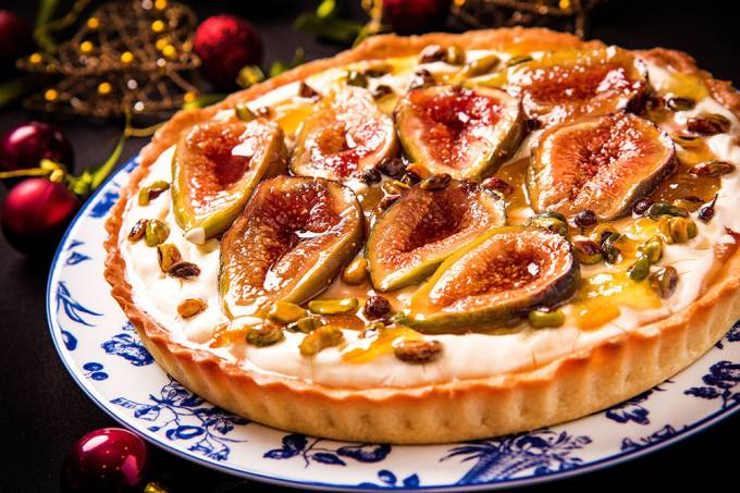 MP Tortas Boutique; torta de figo e psitache