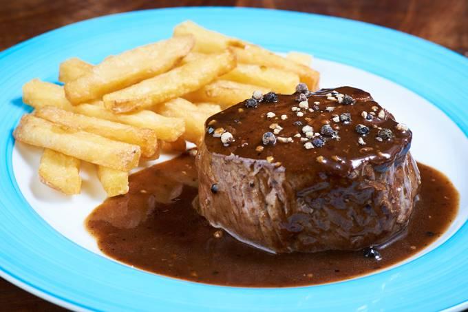 Club Gourmet; filé au poivre
