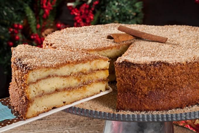 Torta & Cia; torta de rabanada