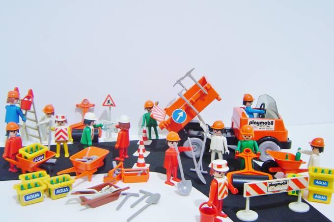 exposição Playmobil