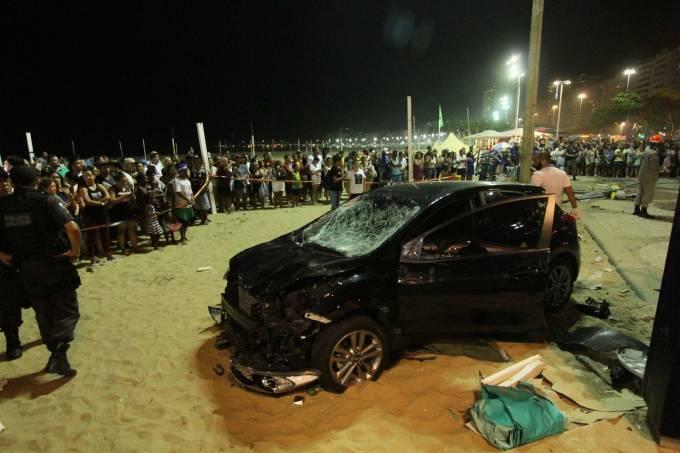 atropelamento Copacabana